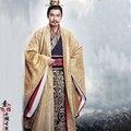 Император HuiWang династии Цинь Hanfu Костюм Нежный Вышивка Костюм на 2016 год Новые ТВ Играть Si Mei Ren Песня феникс
