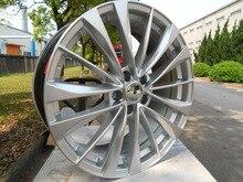 Four pieces 20×8.0 et 35  5×114.3 OEM Hyper Silver Alloy Wheel Rims W412 On Sale