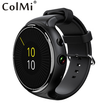 ColMi Smart Watch i2 RAM 2GB ROM 16GB 2MP Camera Android 5.1 3G WIFI GPS Google Play Heart Rate Monitor for Android IOS Phone