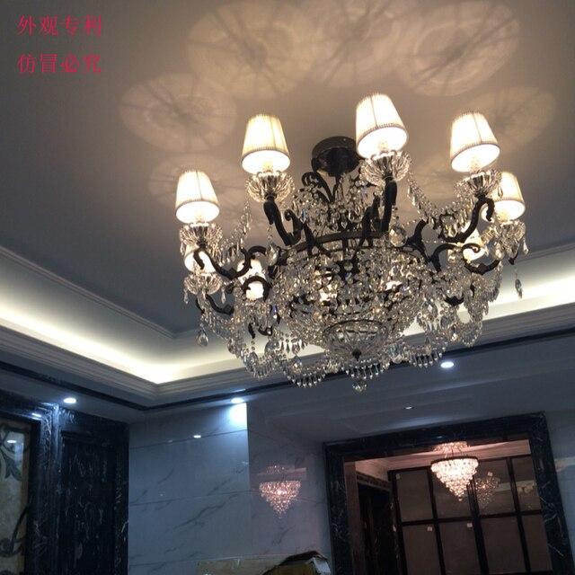 Ristorante tradizionale nero lampadario in ferro Classico Ferro ...