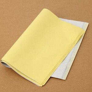 Image 3 - 10 Teile/los 4 Schicht Carbon Thermische Schablone Tattoo Transfer Papier Kopierpapier Tracing Papier Professionelle Tattoo Versorgung Zubehör 27