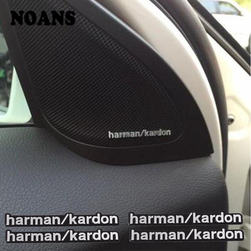 Głośnik do samochodowego systemu audio naklejki samochód stylizacji dla Lexus Buick MG Mercedes Benz W205 W203 W212 W124 W204 AMG Volvo XC90 S60 V40 S80 XC60