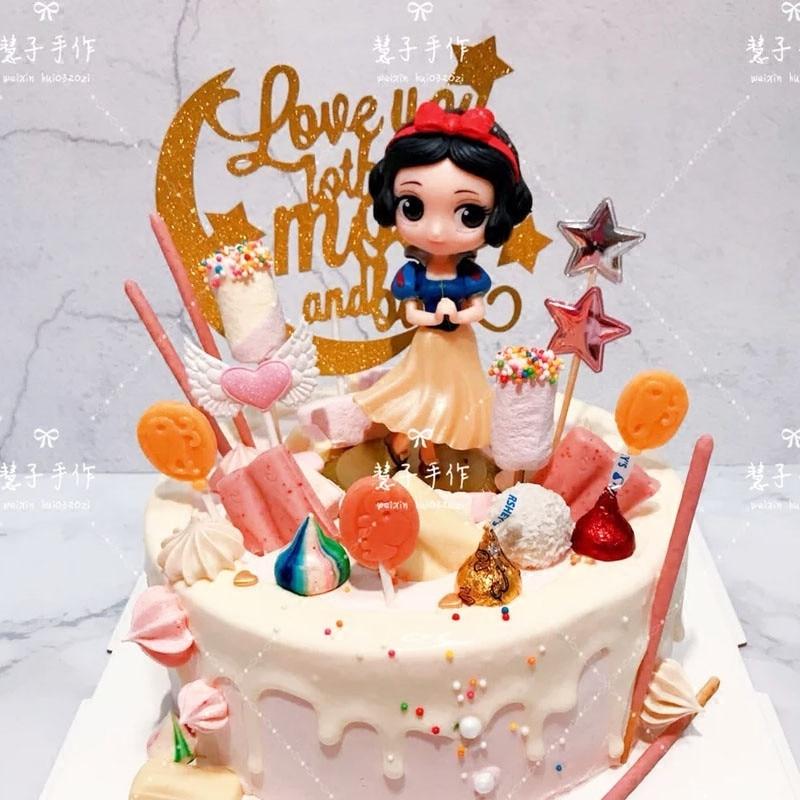 Girls Princess Cake Topper Cake Decorating Kids Birthday
