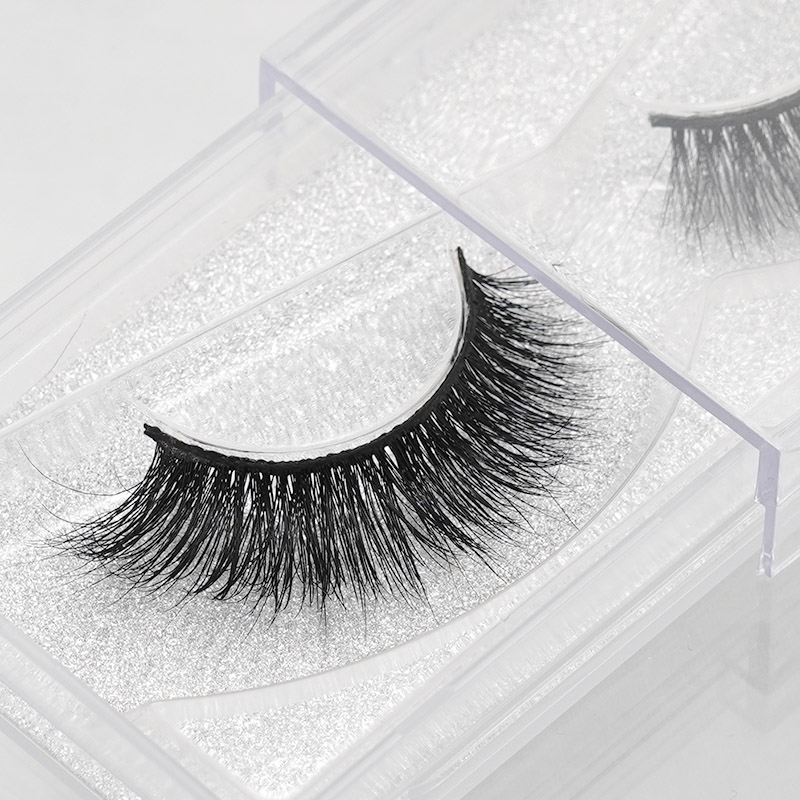 1 pair 3D Handmade Thick Mink Eyelashes Natural False Eyelashes for Beauty Makeup fake Eye Lashes Extension