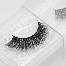 1 pair 3D Handmade Thick Mink Eyelashes Natural False Eyelashes for Beauty Makeup fake Eye Lashes Extension недорого