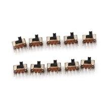 Interrupteur à bascule/3 Mm haute Miniature, 10 pièces, SK12D07VG3, Stents latéraux, vente en gros