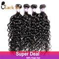 Raw Indiano Virgem Do Cabelo Encaracolado 4 Bundles Lot Indiano Onda Profunda tecer encaracolado top grade black in virgem extensão do cabelo humano em venda