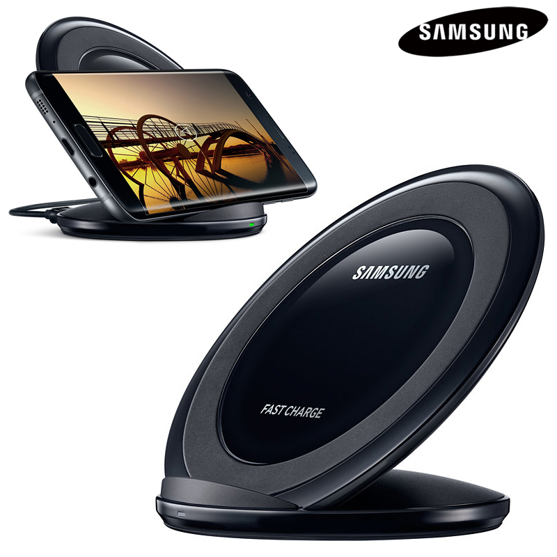 Original QI Drahtlose Ladegerät Pad Schnelle Ladung EP-NG930 für Samsung Galaxy S7 iPhone8 Plus S6 S8 Plus S9 G955 G9200 n9200 Note8 9