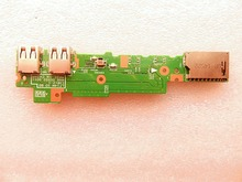 original for Lenovo for Ideapad Flex2-14 USB Board Card Reader Board LF14M IO BD 448.00X02.0011 455.00X02.0001