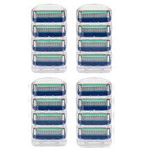 16pcs/Pack Razor Blade For Shaving Safety Shaver Blades Cassette,5Blade Compatible For gillette fusion Machine недорого