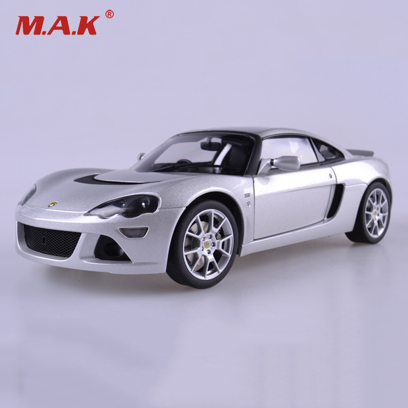 Diecast Model Car 1/18 Lotus Europa S Car Model Silver Color Collections Gifts  Displays Model Toys b101xt01 1 m101nwn8 lcd displays