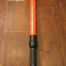 Наружная безопасная светящаяся палочка регулировщика, предупреждающий сигнал, мигающий ночью, палочка, палочка от руки, полицейский реф Батон 540 мм ночник