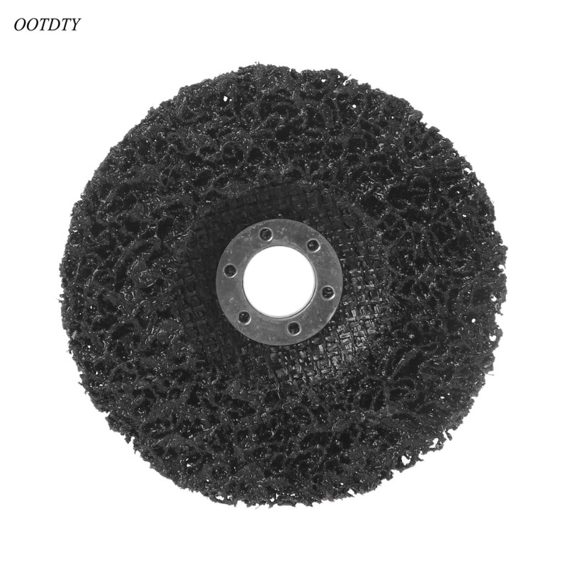 OOTDTY Poly Strip Disc Wheel Paint Rust Removal Clean Remove For Angle Grinder 100x16mm