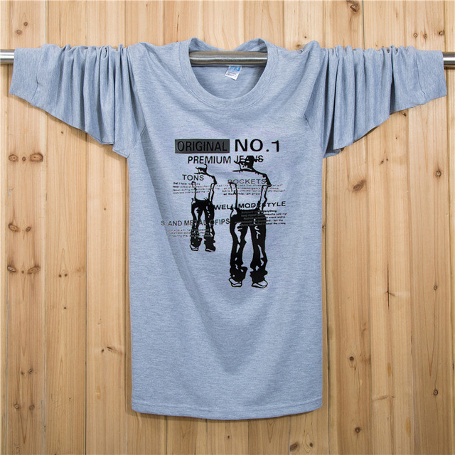 XL-7XL Plus Size T camisa Figura t-shirt Dos Homens do Algodão de Fitness camisa Longa t XL XXL XXXL 4XL 5XL 6XL 7XL