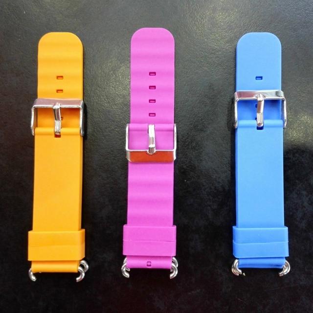 Substituir pulseira de relógio inteligente para pulseira de relógio q90 q750 q100 q60 q80 crianças gps tracker pulseira de silicone pulso com conexão