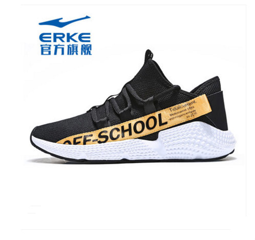 Erke summer breathable mesh panel shoes ins shoes running casual shoes mens shoes Erke summer breathable mesh panel shoes ins shoes running casual shoes mens shoes