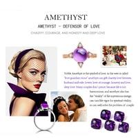 Natural Gemstone Amethyst Purple LMAMST