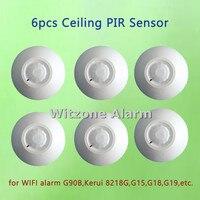 2015 Hot Selling Wireless Passive Infrared Detector Ceiling Mounted PIR Sensor Motion Detector For Wireless Burglar