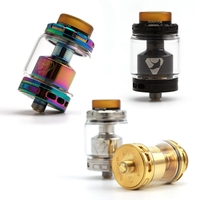 Advken MANTA RTA Tank Atomizer 5ml Capacity Vapor Manta Atomizer 24mm Diameter 810 PEI Drip Top