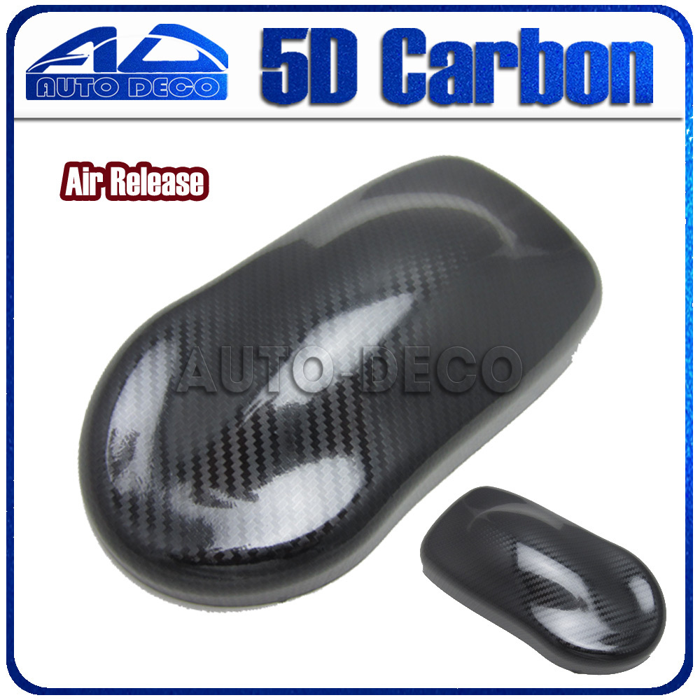 High Quality Glossy Black 5D Carbon Fiber Vinyl Car Wrap Film Stickers With Air Release For Car Wrapping Foil Size:152*20m 40cmx200cm car styling 3d 3m carbon fiber sheet wrap film vinyl car stickers and decals motorcycle automobiles car accessories