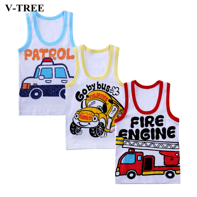 V-TREE Children T-shirt Cartoon Boys Shirts Cotton Girl T-shirt Brand Baby Tee O Collar T-shirt For Kids Baby Tops criss front v back t shirt
