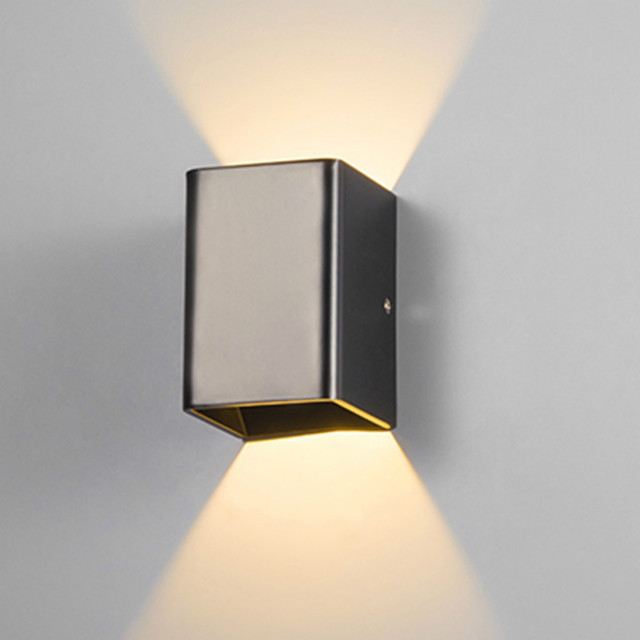 Modern simple wall sconce led garden lighting waterproof wall light modern simple wall sconce led garden lighting waterproof wall light outdoor 110 220v up down aloadofball Image collections