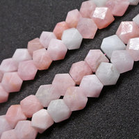 15mm Natural Near Cube Pink Faceted Morgan beads For Jewelry Making Beads Bracelets 15inch DIY Beads Necklace Earring Trinket