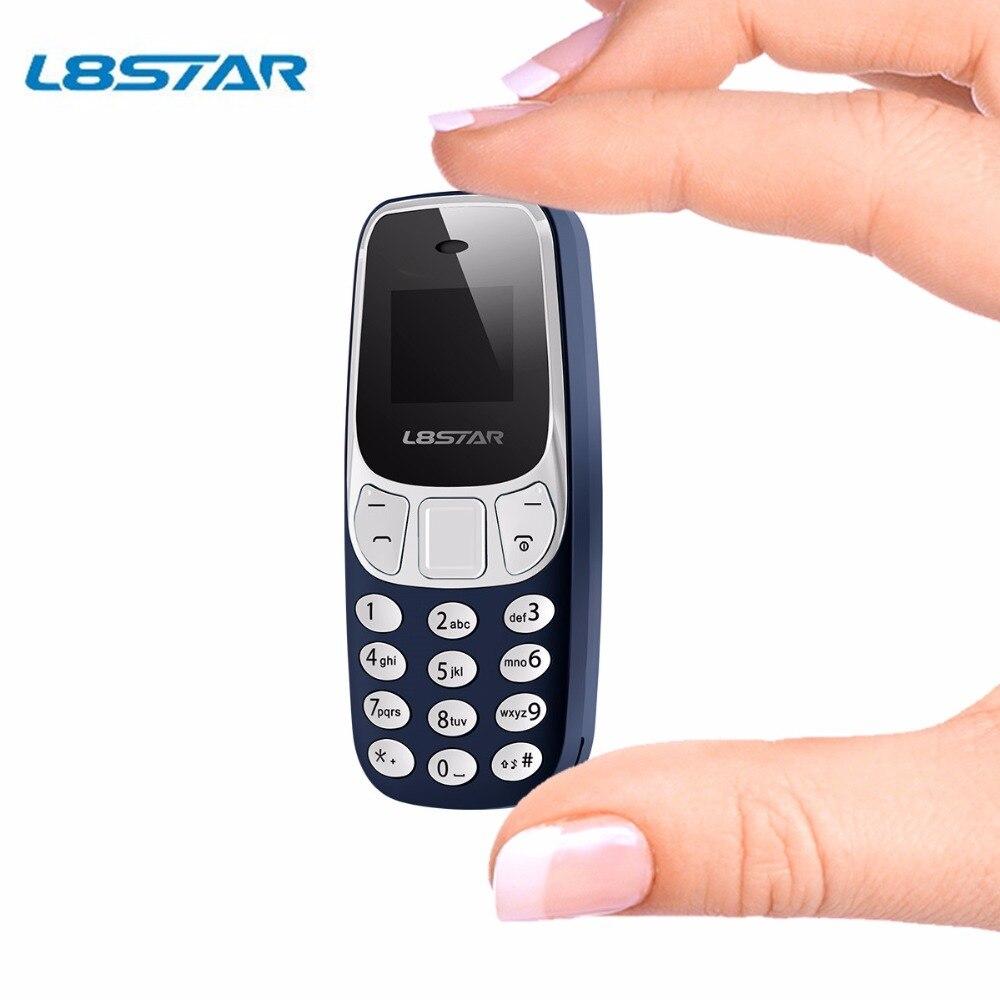 D'origine L8star BM10 Sans Fil Bluetooth Dialer Mini téléphone BM 10 avec Écouteur Main-livraison Casque Petits Nokia3310 VS BM70 BM50
