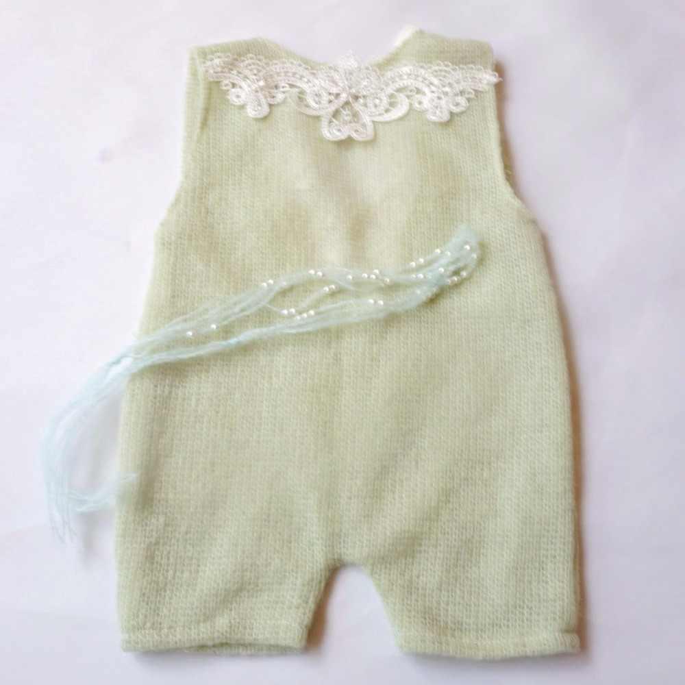 2018 Yeni Dantel Romper Yenidoğan Fotoğraf Sahne giysileri bebek pamuk kız romper bebek tulum Kız Bebek Giysileri