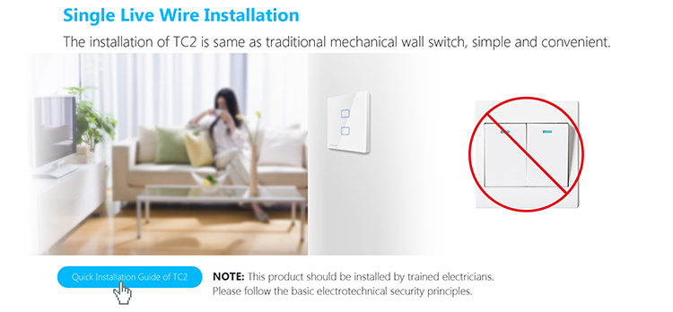 EU UK Standard Broadlink TC2 Wireless 1 2 3 Gang wifi Wall Light Switch Smart Home Automation-3.jpg