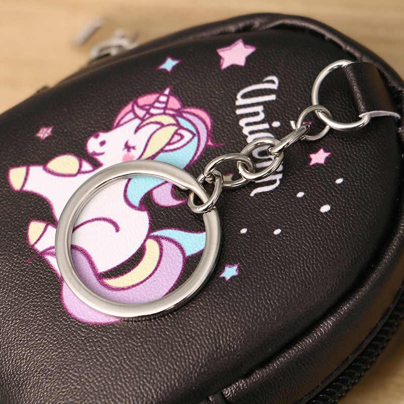 Nuevo de mi pequeño Pony monedero de dibujos animados lindo unicornio imagen cartera las mujeres las niñas estudiante conveniente de cuero de bolsa de almacenamiento de la pu