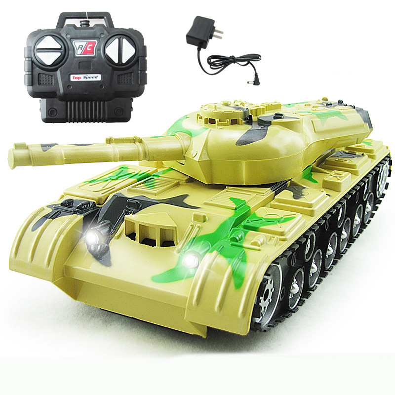 Top réservoir de contrôle à distance contre les réservoirs RC parent-enfant contre télécommande infrarouge avec réservoir de tourelle modèle voiture jouet de bataille