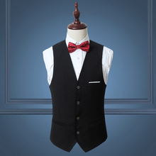 MarKyi 2017 new plus size 6xl casual mens suit vest good quality slim fit dress waistcoats sleeveless