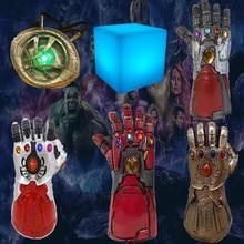 Avengers Endgame Thanos Iron Man Infinity Gauntlet Tesseract Action Figures Toy Doctor Strange Avangers Golves