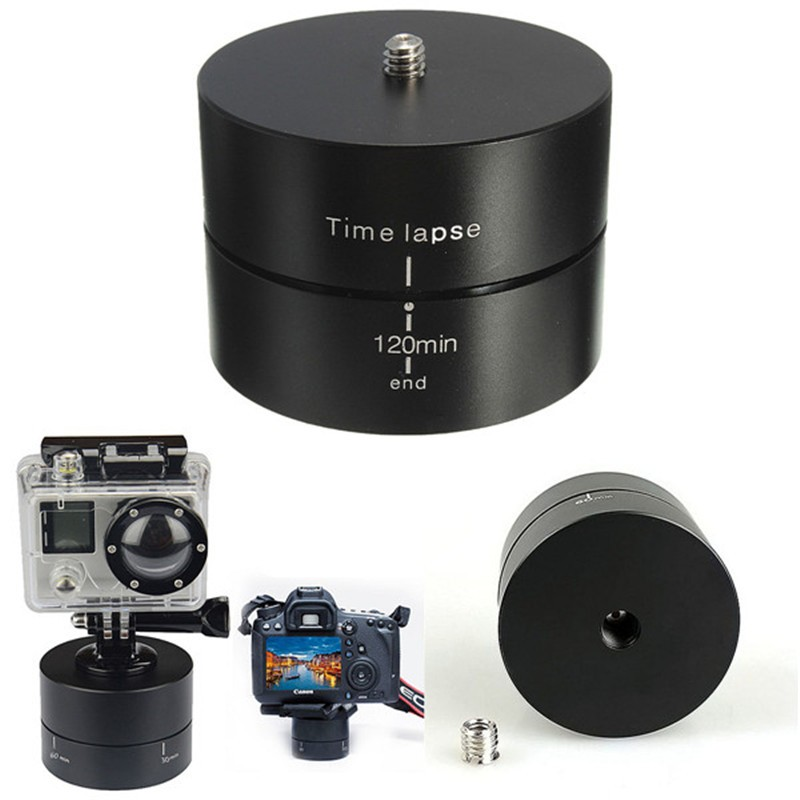 120min-1-4-360-Degrees-Panning-Rotating-Time-Lapse-Stabilizer-Tripod-Adapter-For-Gopro-SJ4000-XIaomi (1)