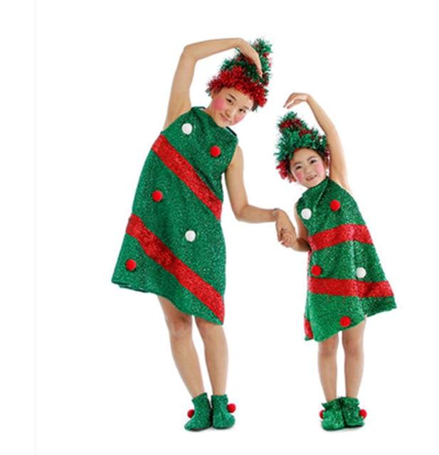 Nieuwe Patroon Europese Kerst Kleding Kinderen Kerst Kostuum