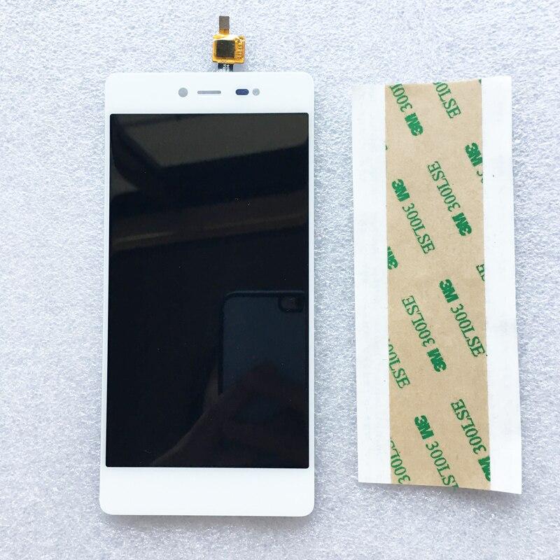 Nouveau Pour Wiko Fièvre 4G/Fièvre LCD Display + Écran Tactile 100% Nouveau Convertisseur Analogique-Numérique D'écran Pour Wiko fièvre Mobile Téléphone