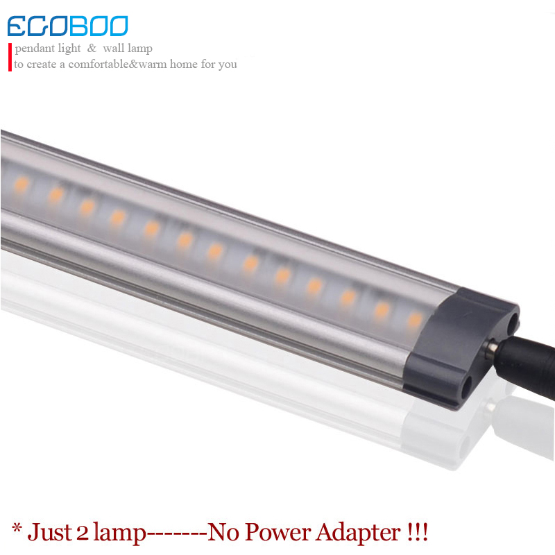 ( 2pcs/lot) 12v DC 500mm long 5W LED  Linear silver white Bar strip Lights tubes in kitchen Cabinet showcase Lighting