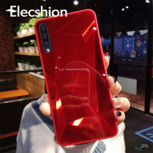 3D Diamond Case For SamSung Galaxy S7 S8 S9 S10 Plus A50 J7 Luxury Mirror Glossy Back Cover For Samsung Galaxy Note 8 9 S7 Edge купить недорого в Москве