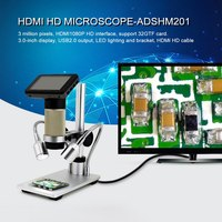 HDMI Digital Microscope Long Object Distance 3 Mega USB Microscope for Mobile Phone Repair Soldering Tool BGA Smt Watch|Microscopes|   -