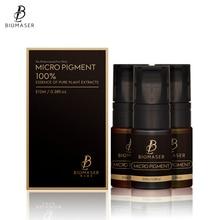 купить Biomaser Professional Permanent Makeup Pigment Tattoo Ink Microblading Pigment LastingLong Eyebrow/eyeliner/lip pigmento по цене 2639.18 рублей