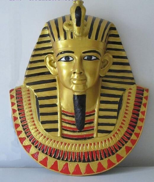 007946 Beautiful Bronze ART Sculpture Head Statue Ramses The Pharaohs Of Ancient Egypt