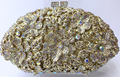Gold Silver Evening Bag with Diamonds Holiday Party Clutch Purse Crystal Bag Stylish Day Clutches Prom Ladies Handbag