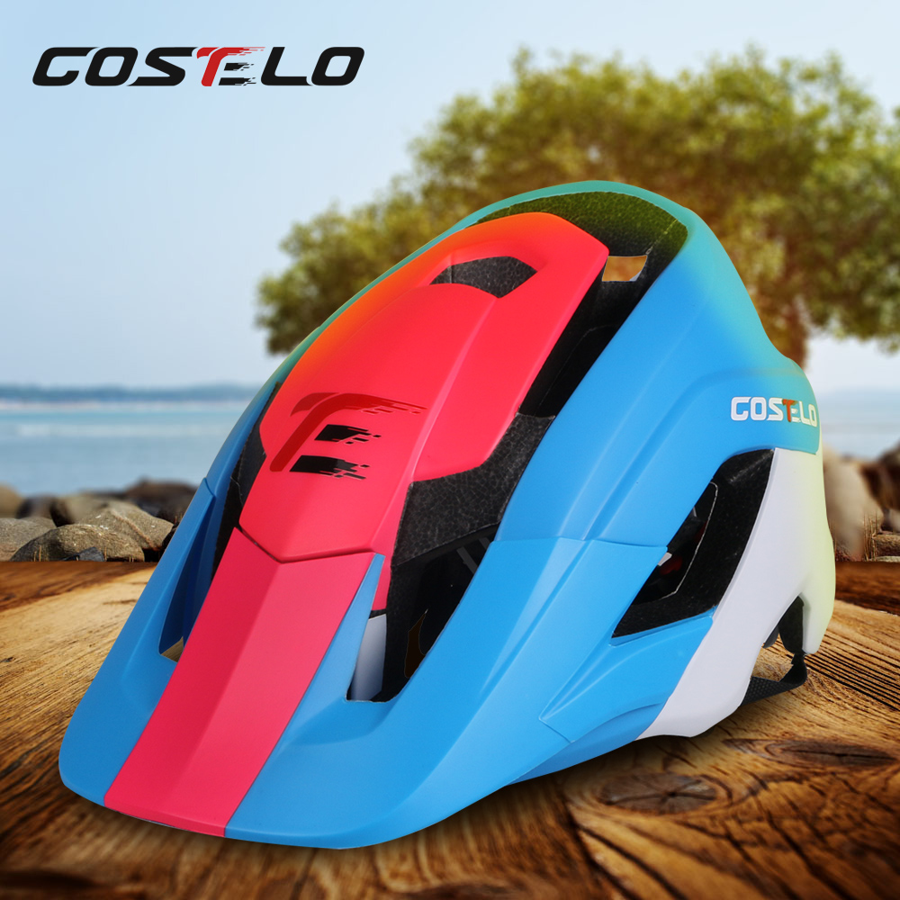 2017 New Mtb Mountain bike helmet Casque bicycle helmet Cycle Helmet Capacete Ciclismo Casco Bicicleta M&L size High Quality universal bike bicycle motorcycle helmet mount accessories
