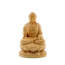 Sitting Thailand budha Sakyamuni sculpture Buddha Dharma statue solid buddha statues wood budas decoracion estatua home