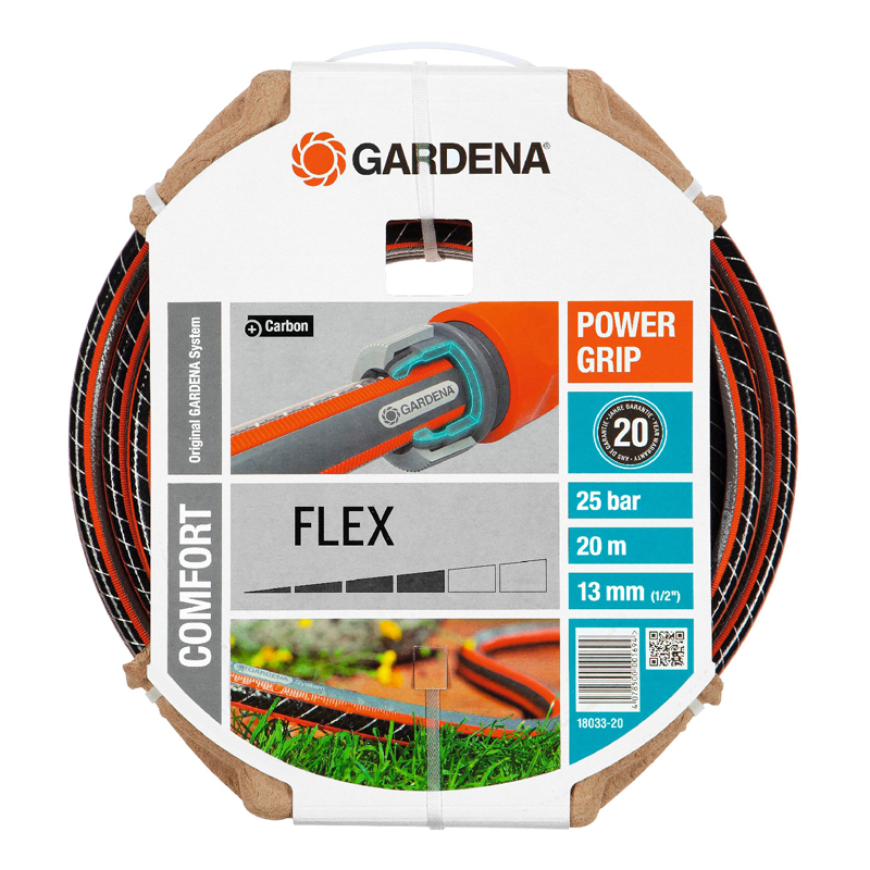 цена Hose поливочный GARDENA 18033-20.000.00 (Length 20 m, diameter 13mm (1/2) maximum pressure 25 bar, reinforced, светонепроницаем, resistant to ultraviolet radiation) онлайн в 2017 году