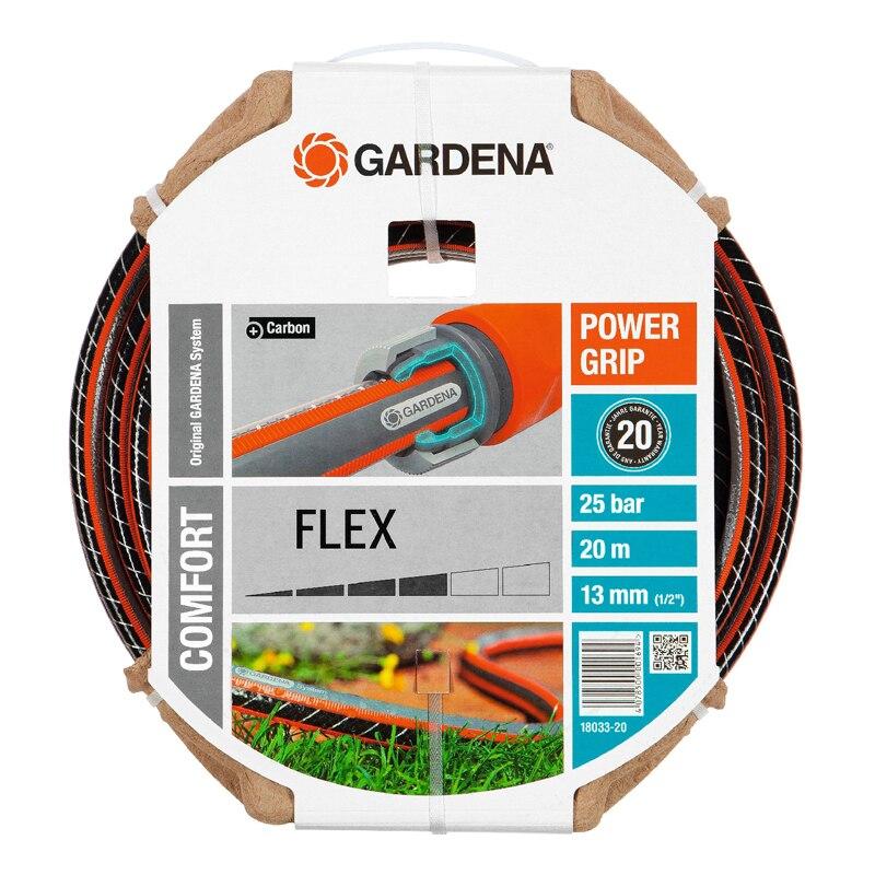 лучшая цена Hose поливочный GARDENA 18033-20.000.00 (Length 20 m, diameter 13mm (1/2) maximum pressure 25 bar, reinforced, светонепроницаем, resistant to ultraviolet radiation)