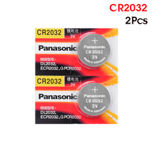 PANASONIC 2 шт. cr2032 DL2032 ECR2032 5004LC KCR2032 BR2032 3v батарея таблеточного типа монета Игрушечная машина с аккумулятором аккумулятор для телефона
