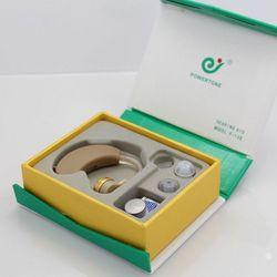 Абсолютно Новый слуховой аппарат, голосовой усилитель звука AXON F-138, слуховые аппараты за ухом, регулируемая забота о здоровье, розничная пос...