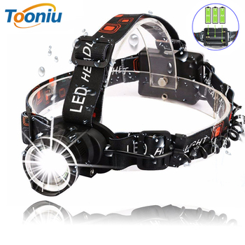 Waterproof Super Bright LED Headlamp T6 LED Headlight Zoomable Headlamp 3 Modes Rotate Zoomable Headlamps Use 3 AA Batteries ultra bright 3 led 3 mode headlamp with clip 2 cr2032